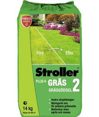 Stroller plus+ gräsgödsel