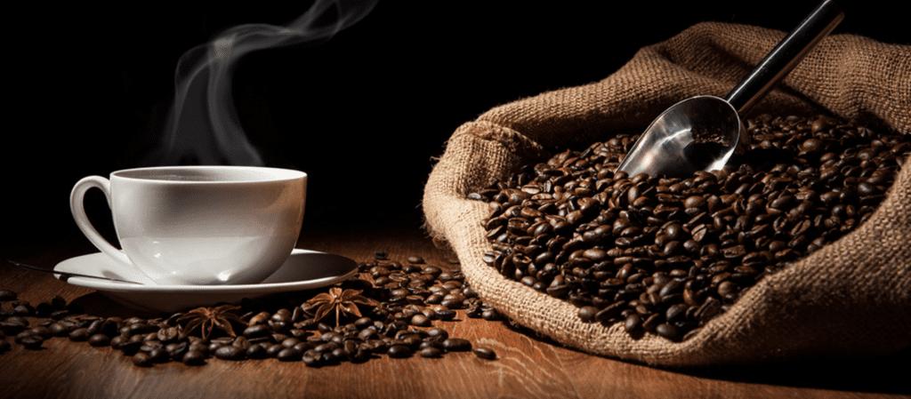 Test av kaffebönor