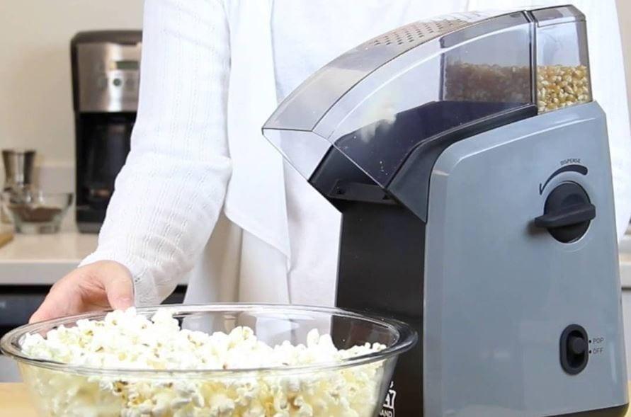 Test av popcornmaskiner