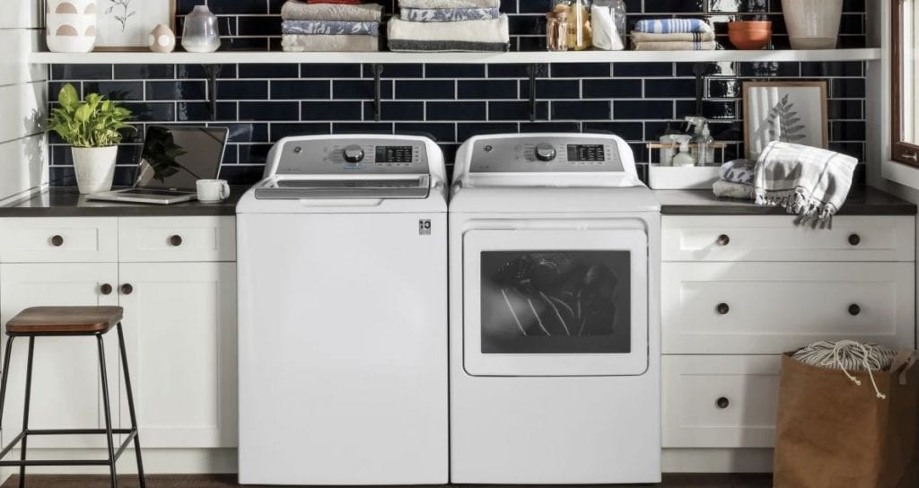 Test av toppmatade tvättmaskiner